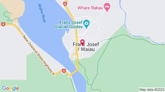Glow Worm Accommodation Map
