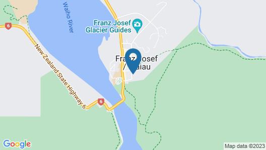 Franz Josef Montrose Hostel Lodge Map