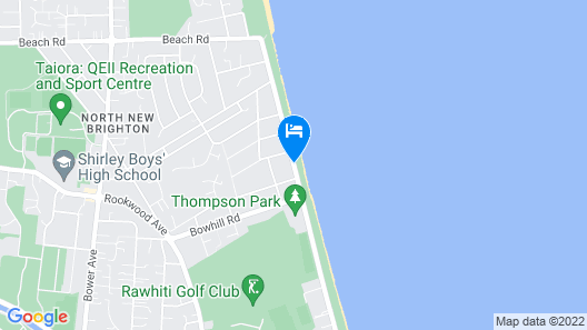 Beachlife Apartments Map