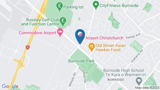 Airport Gateway Motor Lodge Map