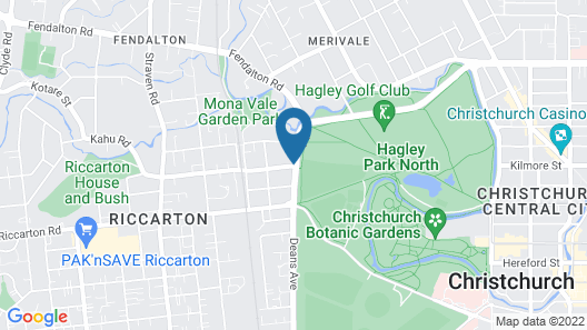 Chateau on the Park - Christchurch, a DoubleTree by Hilton Map