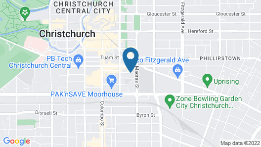 Southwark Hotel & Apartments Map