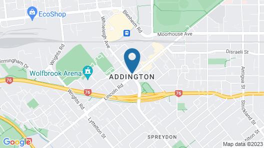 2 on Whiteleigh Motel Map