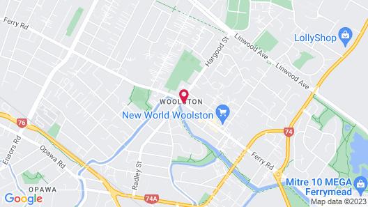 Arcadia Motel Map