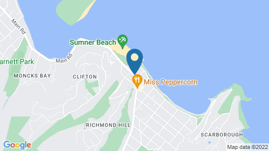 Sumner Bay Motel & Apartments Map