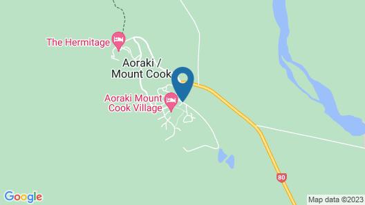 YHA Aoraki Mt Cook - Backpacker Map
