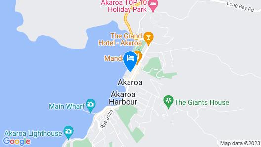 Akaroa Waterfront Motels Map