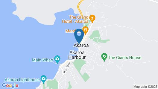 Akaroa Criterion Motel Map