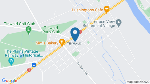 Tinwald Motels Map