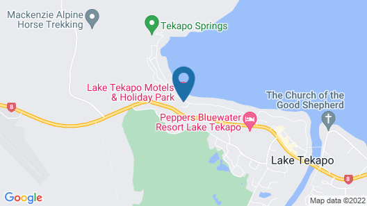 Lake Tekapo Motels & Holiday Park Map