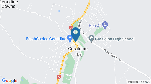 Geraldine Heritage Hotel Map