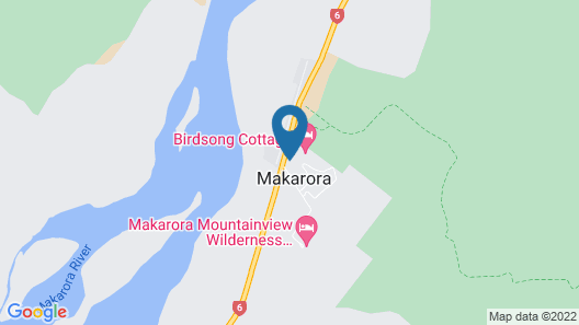 Wonderland Makarora Lodge Map