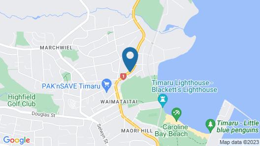 Ashbury Park Motel Map