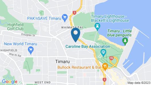 The Sanctuary Beach Side Map
