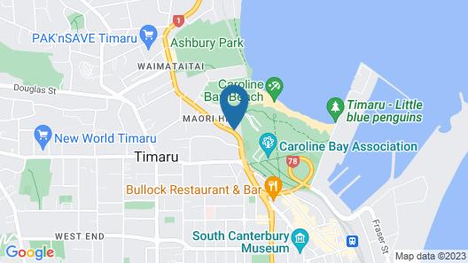 Baywatch Motor Lodge Map