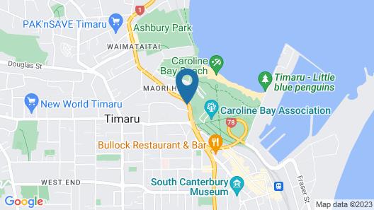 Bay City Motor Lodge Map