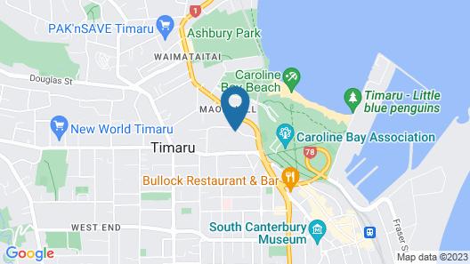 The Ocean Breeze Suites Map