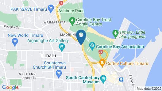 Harbour View Motel Map