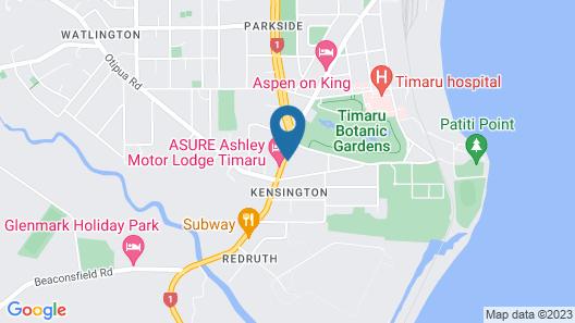 Cedar Lodge Motel Map