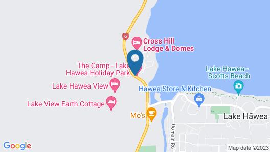 The Camp - Lake Hawea Map