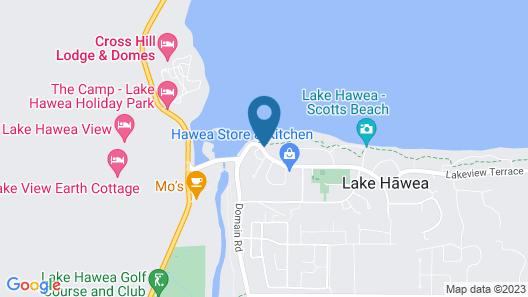 Hawea Hotel Map