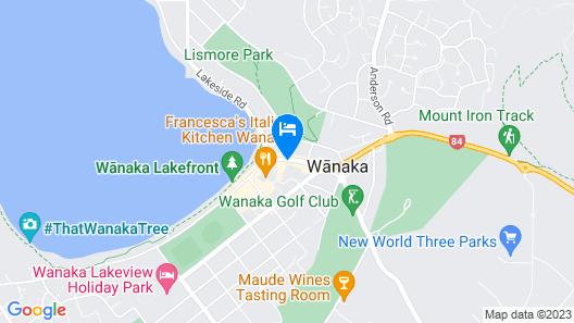 Wanaka Hotel Map