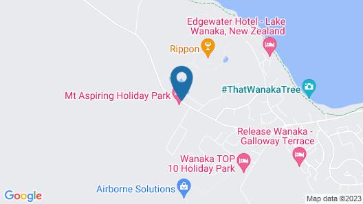 Mt Aspiring Holiday Park Map