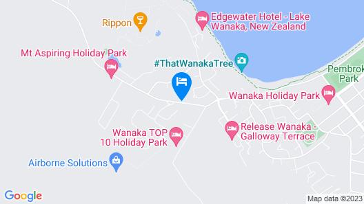 Club Wyndham Wanaka Map