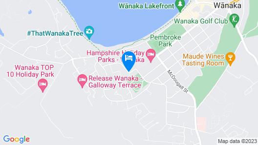 Wanaka Luxury Apartments Map
