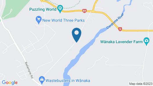 Oasis Yurt Lodge Map
