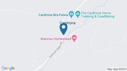Waiorau Homestead Map