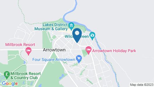 Settlers Cottage Motel Map