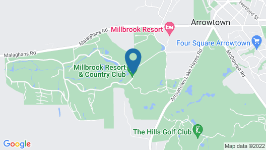 Millbrook Resort Map