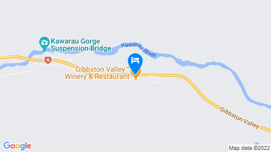Gibbston Valley Lodge & Spa Map