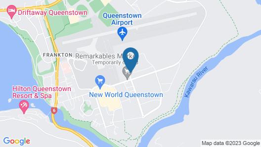 Wyndham Garden Queenstown Map