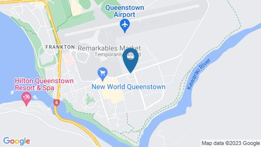 Ramada Hotel & Suites Queenstown Remarkables Park Map