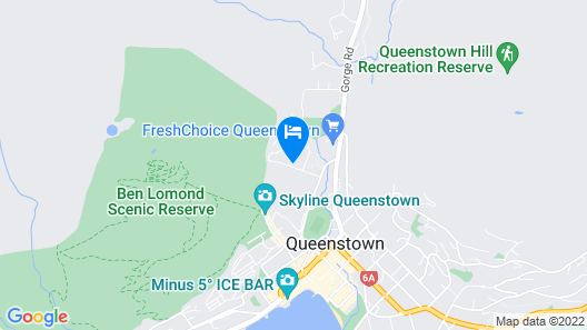 Qubehouse Holiday Homes Map