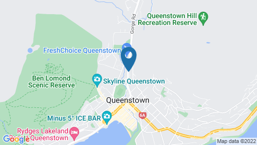 Cranbury Court Apartments Queenstown Map