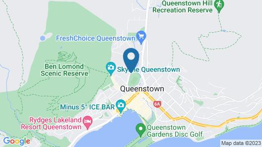 Queenstown Park Boutique Hotel Map