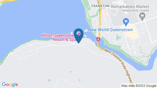 Hilton Queenstown Resort & Spa Map
