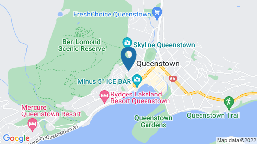 Browns Boutique Hotel Map