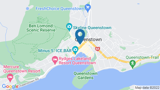 Sofitel Queenstown Hotel & Spa Map