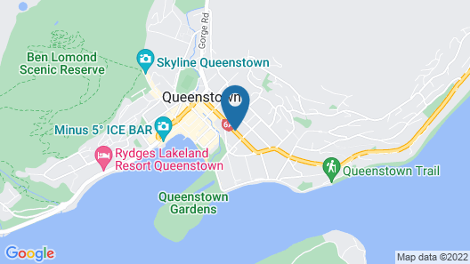 Heartland Hotel Queenstown Map