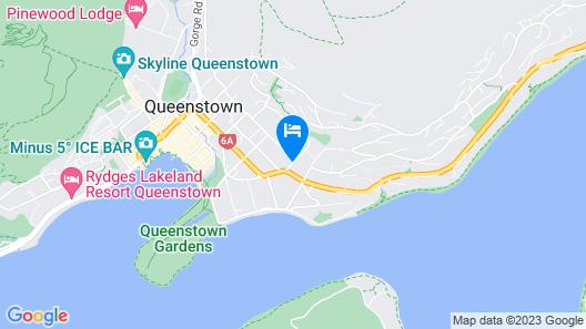 Chalet Queenstown Map