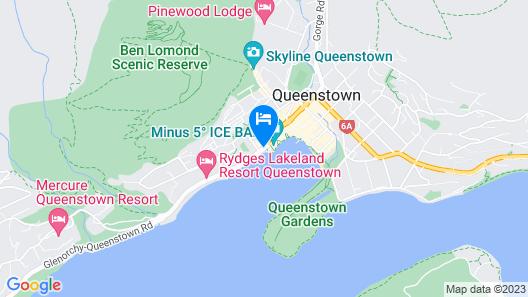Crowne Plaza Hotel Queenstown, an IHG Hotel Map