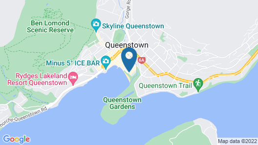 Novotel Queenstown Lakeside Map