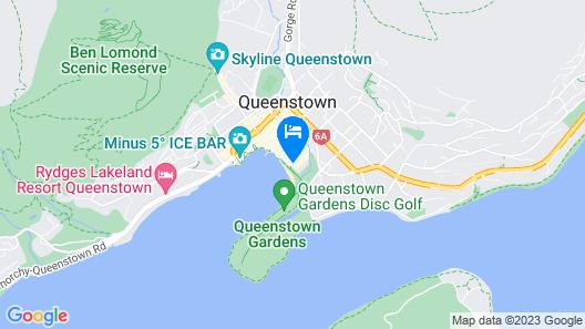 Novotel Queenstown Lakeside Map