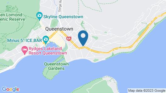 Hurley's of Queenstown Map