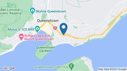 Millennium Hotel Queenstown Map