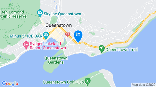 Millennium Hotel Queenstown Map
